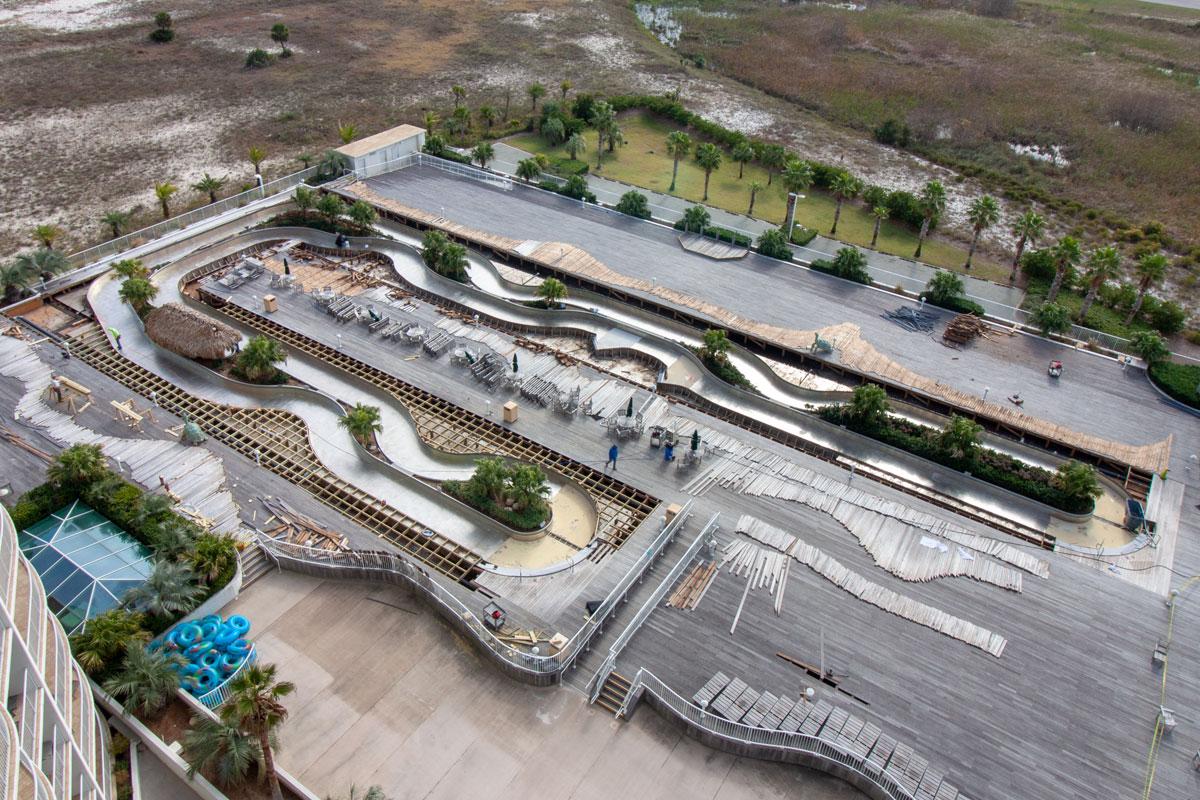 Lazy River Construction